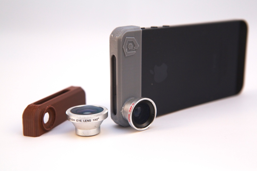 3D Printed Photojojo Lens Adapter for iPhone